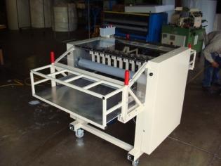 narrow width pad slitter